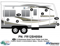 Shockwave - 2012 Shockwave Small TT - 2012 Shockwave Sm Travel Trailer Right Side Graphics Kit