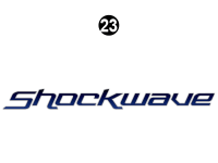Shockwave - 2014 Shockwave FW-Fifth Wheel - FW Side Shockwave Logo 73.9""