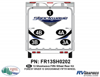 Shockwave - 2013 Shockwave FW-Fifth Wheel - 2013 Shockwave Fifth Wheel Rear Graphics Kit