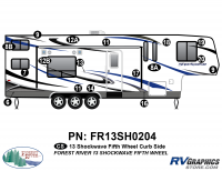 Shockwave - 2013 Shockwave FW-Fifth Wheel - 2013 Shockwave Fifth Wheel Right Side Graphics Kit