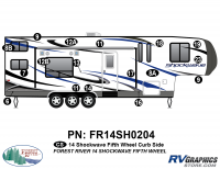 Shockwave - 2014 Shockwave FW-Fifth Wheel - 2014 Shockwave Fifth Wheel Right Side Graphics Kit