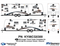 2006 Cougar Travel Trailer Complete Kit
