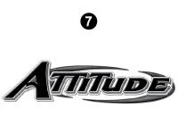 Attitude Logo-Reflective