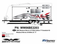Weekend Warrior Mainline - 2006-2007 Billet Edition 22' TT - Roadside 22 TT Billet Kit