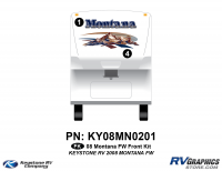 2008 Keystone Montana FW Front Graphics Kit