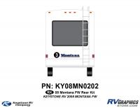 2008 Keystone Montana FW Rear Graphics Kit