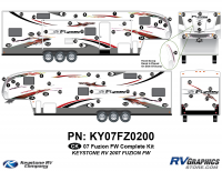 2007 Fuzion FW Complete Graphics Kit