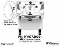 2007 Fuzion FW Front Graphics Kit