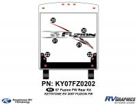 2007 Fuzion FW Rear Graphics Kit