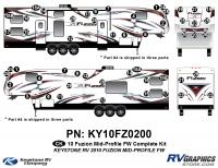 2010 Fuzion FW Mid Profile Complete Kit