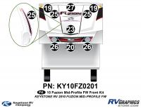 2010 Fuzion FW Mid Profile Front Kit