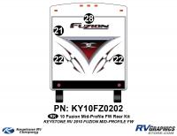 2010 Fuzion FW Mid Profile Rear Kit