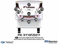 2010 Fuzion FW High Profile Front Kit