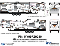 2010 Fuzion FW TE Complete Kit