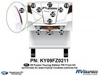 2010 Fuzion FW TE Front Kit