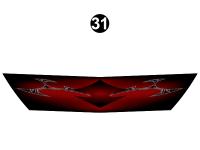 Fuzion - 2012 Fuzion FW-Fifth Wheel MP (MId Profile) - MP Front Cap Grill