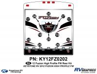 2012 Fuzion FW HP Rear Kit