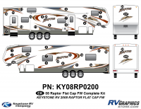 2008 Raptor FW Flat Cap Complete Kit
