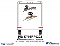 2008 Raptor FW Flat Cap Rear Kit