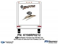 2008 Raptor FW Formed Cap Rear Kit
