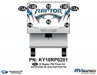2010 Keystone Raptor FW-Fifth Wheel Front Graphics Kit