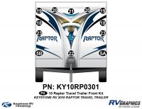 2010 Keystone Raptor  TT-Travel Trailer Front Graphics Kit