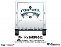 2010 Keystone Raptor  TT-Travel Trailer Rear Graphics Kit