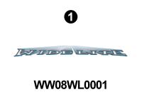 "WideLite - 2008 WideLite TT-Travel Trailer-Blue - WideLite Front/Rear 65"" Logo"
