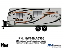 Nash - 2014-2015 Nash TT-Travel Trailer - 2014 Nash Travel Trailer Roadside Graphics Kit