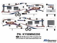 Montana - 2008-2009 Montana Fifth Wheel - 2008 Keystone Montana FW Complete Graphics Kit