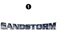 Sandstorm - 2016 Sandstorm FW-Fifth Wheel - Large Sandstorm Logo