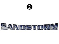 Sandstorm - 2016 Sandstorm FW-Fifth Wheel - Side Sandstorm Logo