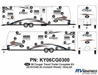 Cougar - 2006-2008 Cougar TT-Travel Trailer OEM Colors - 2006 Cougar Travel Trailer Complete Kit