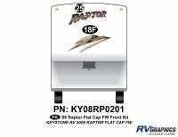 2008 Raptor FW Flat Cap Front Kit