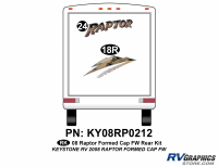 Raptor - 2008-2009 Raptor FW-Fifth Wheel with Formed Cap - 2008 Raptor FW Formed Cap Rear Kit