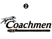 Clipper - 2014 Clipper TT-Travel Trailer - Coachmen 50th logo
