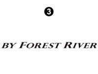 EVO - 2016 EVO TT-Travel Trailer - By Forest River Decal