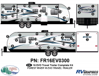 2016 EVO TT-Travel Trailer Complete Graphics Kit