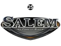 Salem - 2015 Salem TT-Travel Trailer - Front Salem Badge