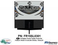 Salem - 2015 Salem TT-Travel Trailer - 2015 Salem TT Front Graphics Kit