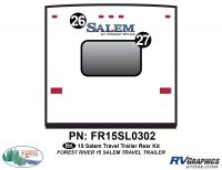 Salem - 2015 Salem TT-Travel Trailer - 2015 Salem TT Rear Graphics Kit