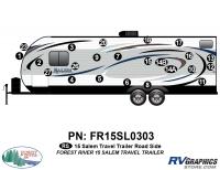 Salem - 2015 Salem TT-Travel Trailer - 2015 Salem TT Roadside Graphics Kit