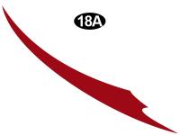 Vengeance - 2013 Vengeance Fifth Wheel - Lower Spear Tail-CS(Curbside)RH/PS