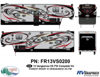 2013 Vengeance SS Fifth Wheel Complete Graphics Kit
