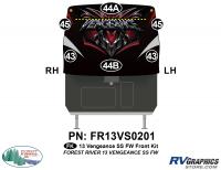 Vengeance - 2013 Vengeance Fifth Wheel - 2013 Vengeance SS Fifth Wheel Front Graphics Kit