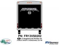 Vengeance - 2013 Vengeance Fifth Wheel - 2013 Vengeance SS Fifth Wheel Rear Graphics Kit