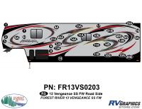 Vengeance - 2013 Vengeance Fifth Wheel - 2013 Vengeance SS Fifth Wheel Roadside Graphics Kit