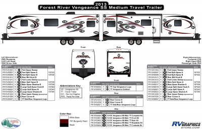Forest River - Vengeance - 2013 Vengeance Medium Travel Trailer