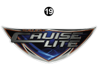 Salem Cruise Lite - 2017-19 Salem Cruise Lite TT-Travel Trailer - Side Salem Cruise Lite Badge
