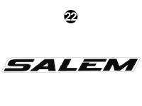 Salem Cruise Lite - 2017-19 Salem Cruise Lite TT-Travel Trailer - SALEM Logo